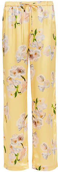 Violet And Wren Tulip Silk Pyjama Pant