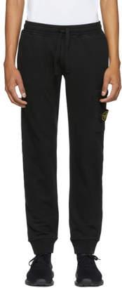 Stone Island Black Pocket Sweatpants