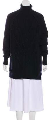 Belstaff Cable Knit Tunic Sweater