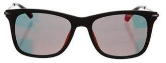 Calvin Klein Collection Mirrored Wayfarer Sunglasses