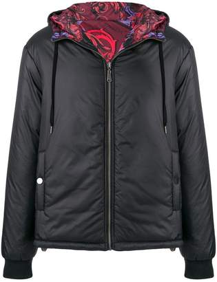 Versace reversible padded jacket