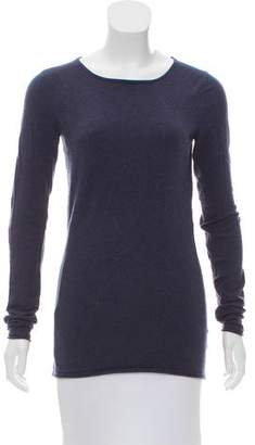 Minnie Rose Bateau Neck Long Sleeve Top