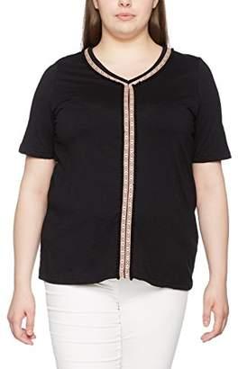 Ulla Popken Women's Shirt mit Ethnotape T