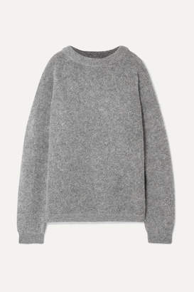 Acne Studios Dramatic Oversized Knitted Sweater - Gray