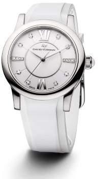David Yurman Classic 34Mm Rubber Swiss Quartz Watch
