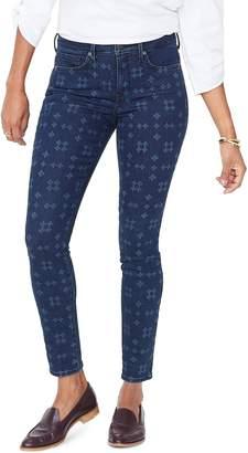 NYDJ Ami Geo Laser Print Skinny Jeans