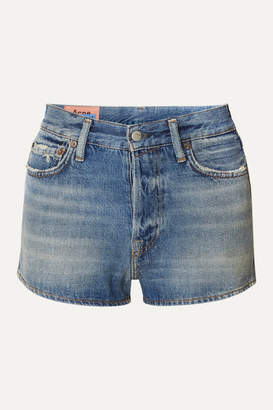 Acne Studios Magee Denim Shorts - Mid denim