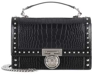 Balmain BBox 25 leather shoulder bag