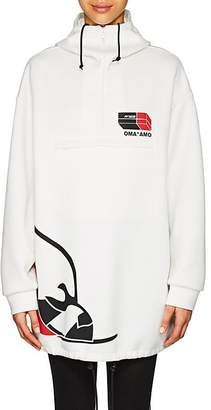 Prada Women's Cotton-Blend Jersey Oversized Hoodie