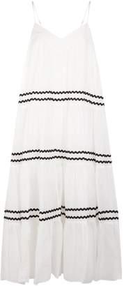 Nicholas Voile Tiered Cami Dress