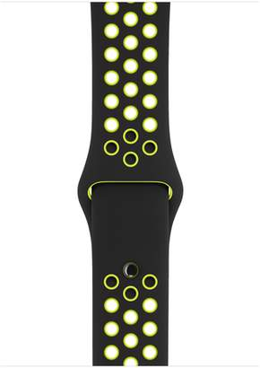 Apple 42mm Black/Volt Nike Sport Band – S/M & M/L