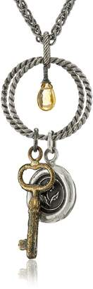 Pyrrha Eternal Beauty Talisman Charm Pendant Necklace, 28""