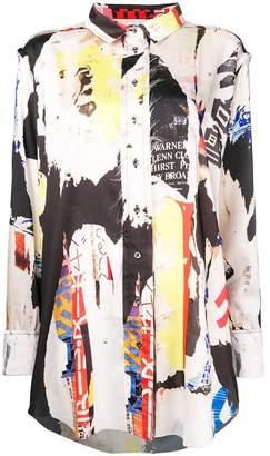 Marques Almeida Marques'almeida Poster Print shirt