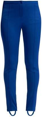 Gucci Technical-jersey stirrup-hem leggings
