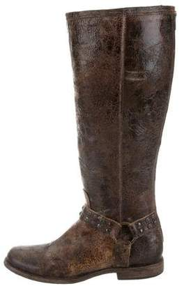 Frye Phillip Distressed Boots