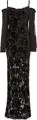 McQ Removable Sleeve Cami Dress