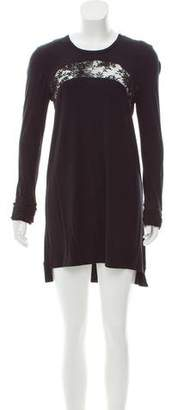 Givenchy Long Sleeve Jersey Dress
