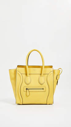 Celine What Goes Around Comes Around Drum Luggage Micro Bag