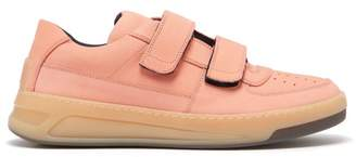 Acne Studios Perey Low Top Suede Trainers - Mens - Pink