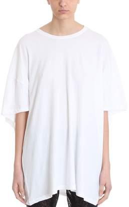 Laneus Ruffles White T-shirt