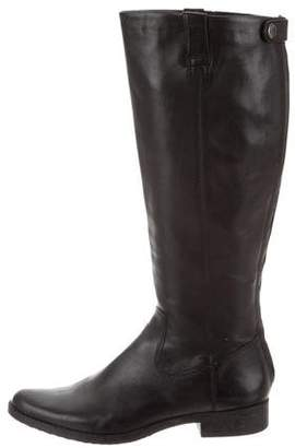 Calvin Klein Leather Knee-Length Boots