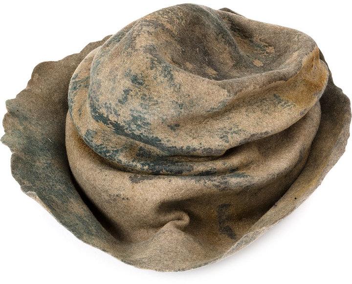 Horisaki Design & Handel wrinkled hat