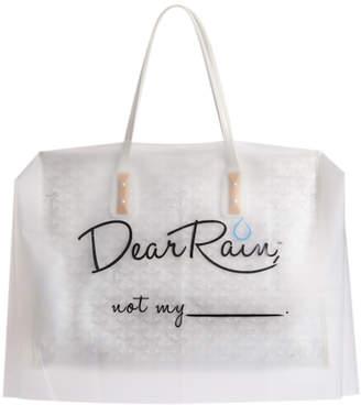 Dear Rain 'Not My' Handbag Ponchos Set
