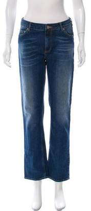 Acne Studios Mid-Rise Straight-Leg Jeans