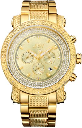 JBW Men's Victor Diamond & Crystal Watch