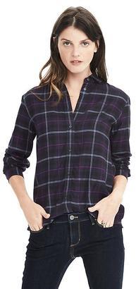 Dillon-Fit Plaid Flannel Shirt $68 thestylecure.com