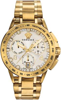 Versace Tech Chronograph Bracelet Watch, 45mm