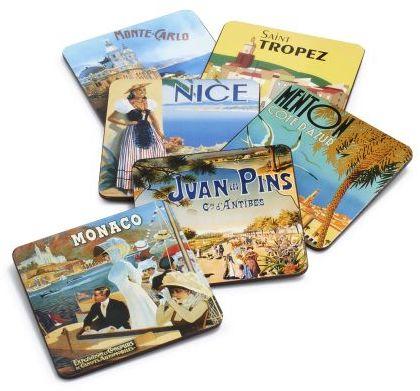Sur La Table Riviera Coasters, Set of 6