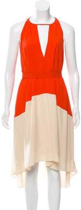 Marc by Marc Jacobs Silk Sleeveless Midi Dress