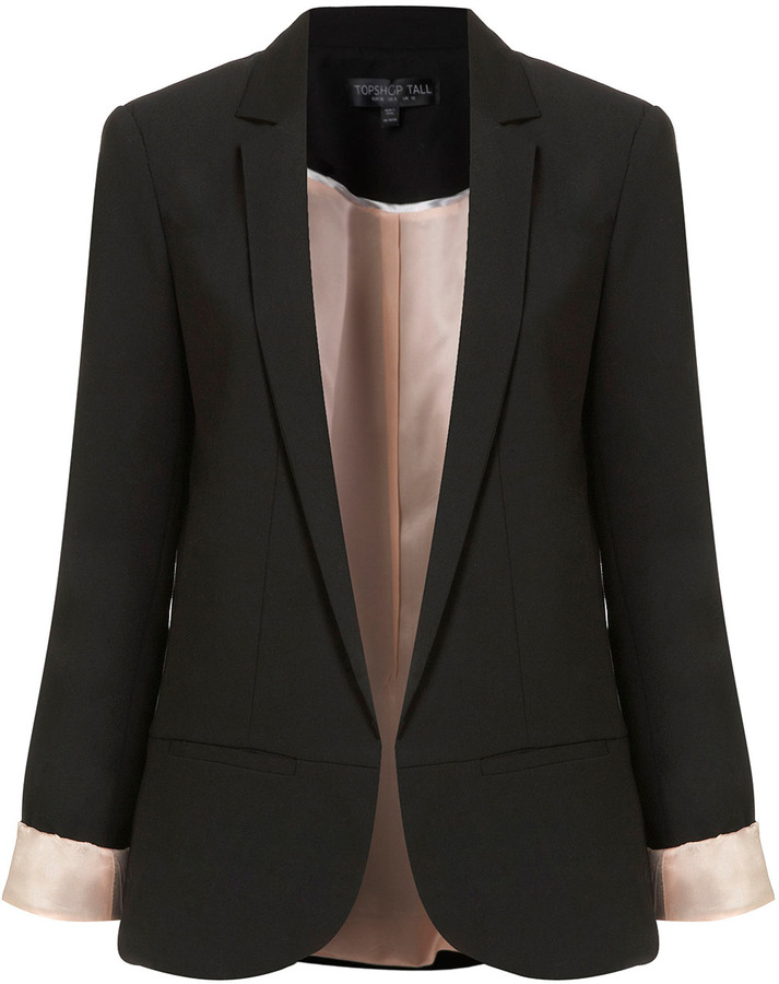 Topshop Tall Structured Blazer