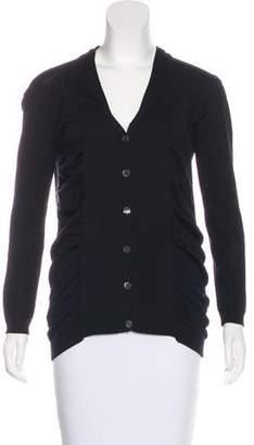Zero Maria Cornejo Long Sleeve Button-Up Top