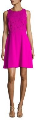 Laundry by Shelli Segal Embroidered Sheath Dress $225 thestylecure.com