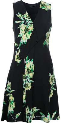 Proenza Schouler sleeveless floral print dress
