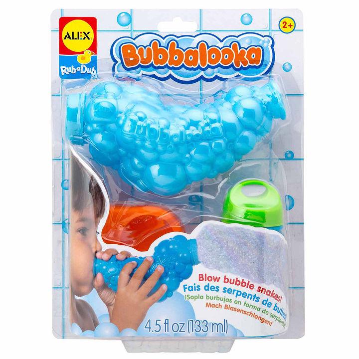 ALEX TOYS Alex Toys Rub A Dub Bubbalooka Bubble Snake Blower 3-pc. Toy Playset