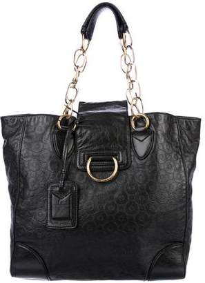 Marc Jacobs Embossed Leather Tote