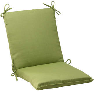 Pillow Perfect Forsyth Kiwi Squared Corners Chair Cushion