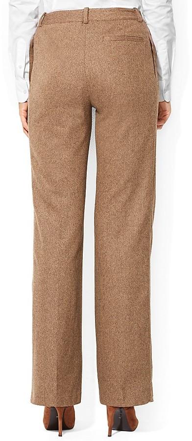 Lauren Ralph Lauren Tweed Flared Pants