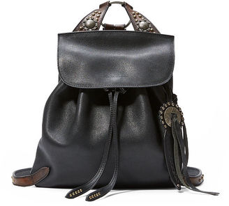 Ralph Lauren Studded Leather Backpack $1,750 thestylecure.com