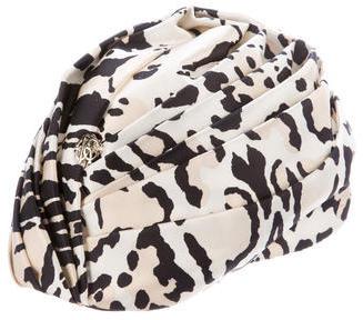 Roberto CavalliRoberto Cavalli Pleated Silk Hat