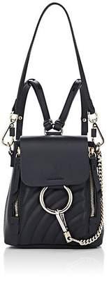 Chloé Women's Faye Mini Leather Backpack - Blue