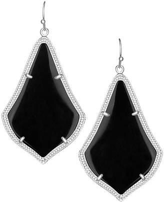 Kendra Scott Alexandra Statement Earrings in Silver