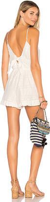 Tularosa x REVOLVE Amelia Romper in White $158 thestylecure.com