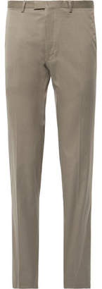Dries Van Noten Peeler Slim-Fit Cotton-Twill Trousers
