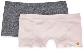 Danskin 2 Pair Knit Boyshort Panty Ds9393