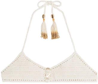 a5b1c417fae56 White Crochet Knit Bikini - ShopStyle Canada
