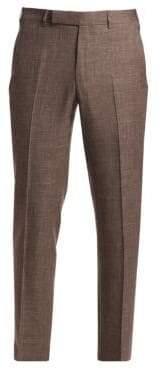 Ermenegildo Zegna Men's Wool Suit Trousers - Beige - Size 50 (34) R
